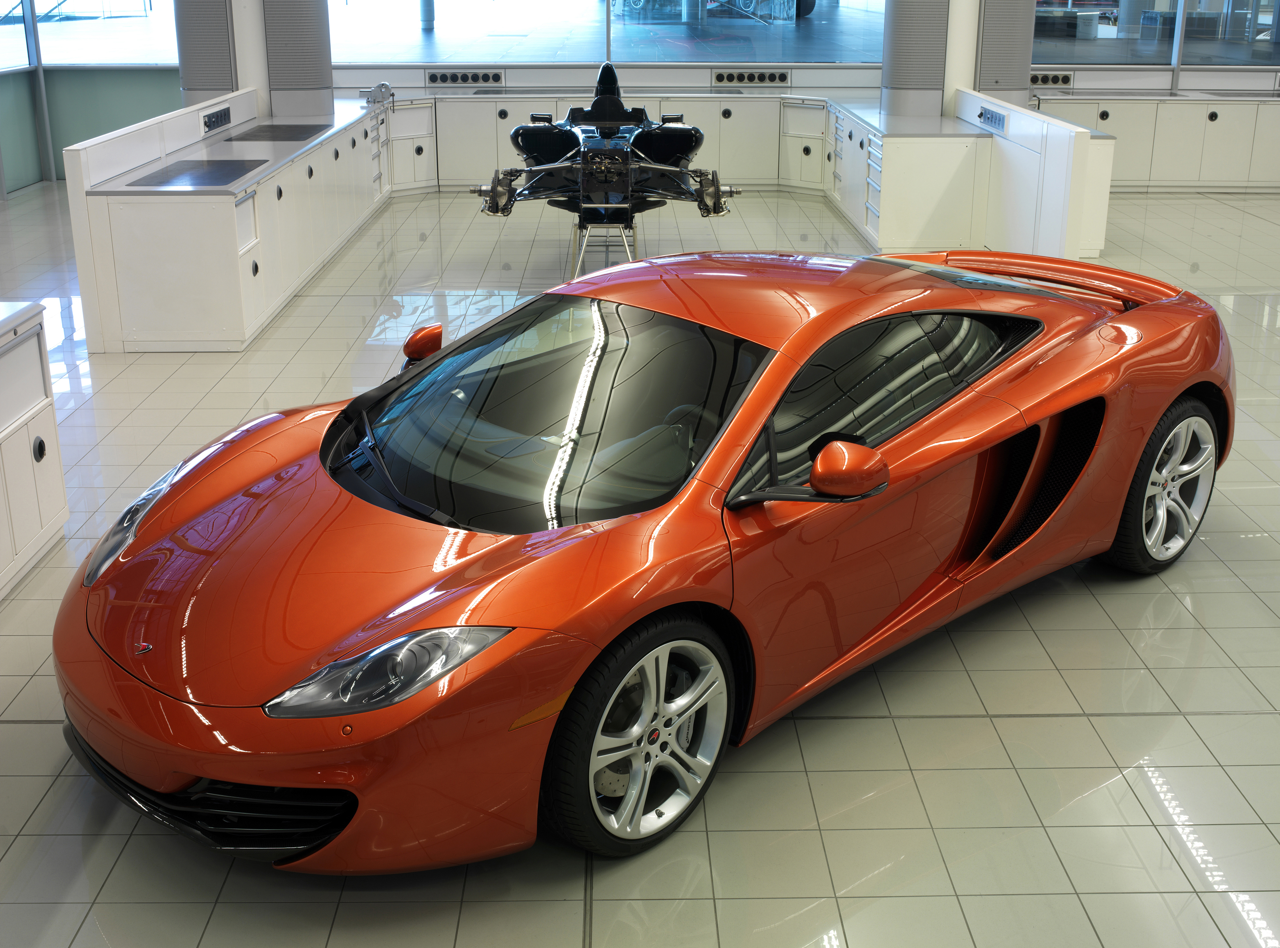 McLaren's new MP4-12C sports car « CLIVE COULDWELL: Formula One as ...