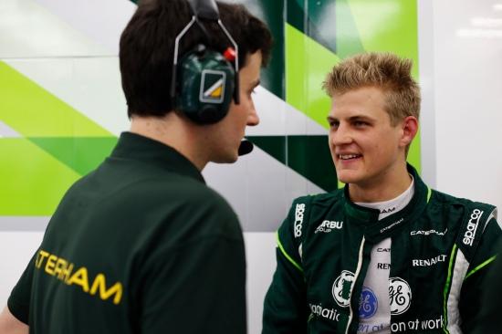 Right: Marcus Ericsson