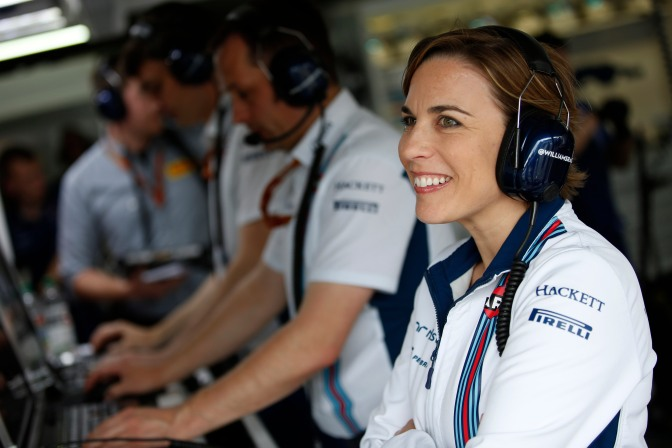 Hockenheim, Germany. Saturday 30 July 2016. Claire Williams, Deputy Team Principal, Williams Martini Racing. Photo: Glenn Dunbar/Williams ref: Digital Image WW2Q1490