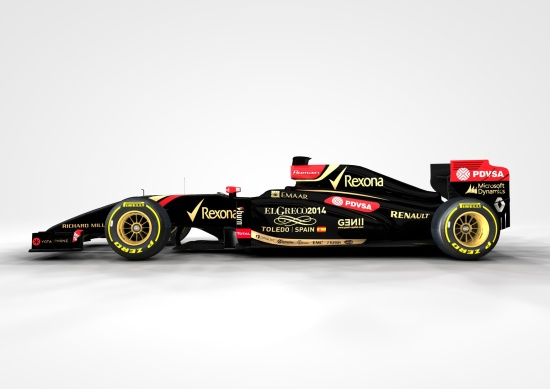 The E22 showing El Greco livery.