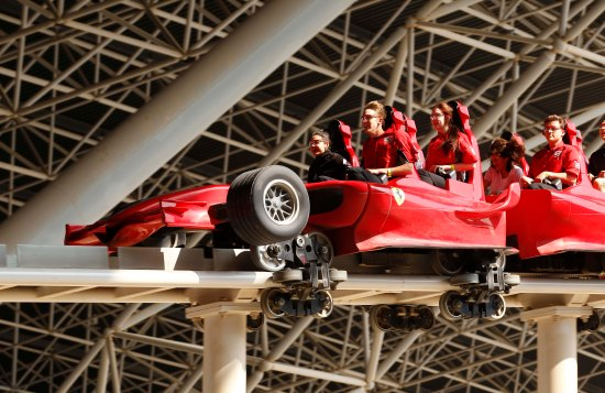 F1-in-Schools-students-ride-Formula-Rossa