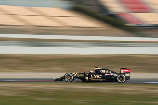 Pastor Maldonado in the E23