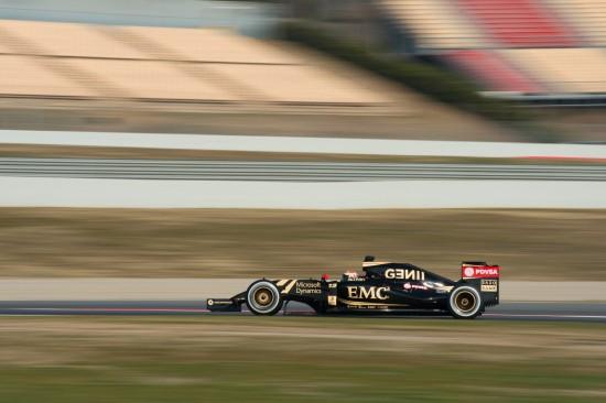 Pastor Maldonado in the E23