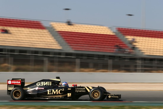 Jolyon Palmer in the E23