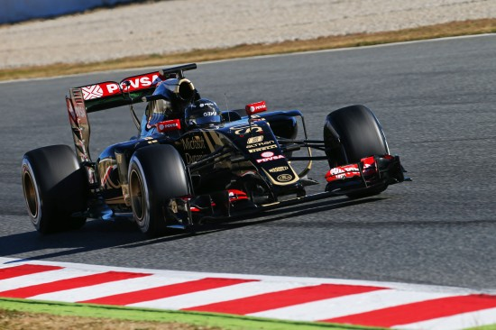 France's Romain Grosjean (and below)