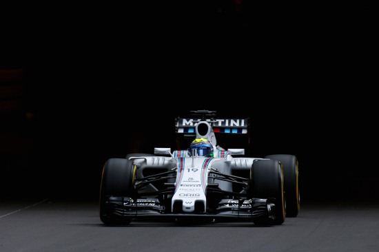Monte Carlo, Monaco. Saturday 23 May 2015. Felipe Massa, Williams FW37 Mercedes. Photo: Glenn Dunbar/Williams ref: Digital Image _89P0038