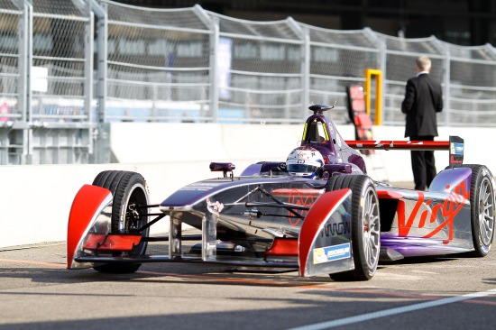 2014/2015 FIA Formula E Championship. First Practice. Berlin e-Prix, Berlin, Germany, Europe. Saturday 23 May 2015 Photo: Adam Warner/LAT/Formula E ref: Digital Image _A8C7752