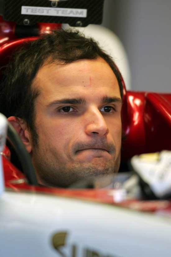 Vitantonio Liuzzi (ITA) Force India   Formula One Testing, Day Three, Jerez, Spain, 06 December 2007.
