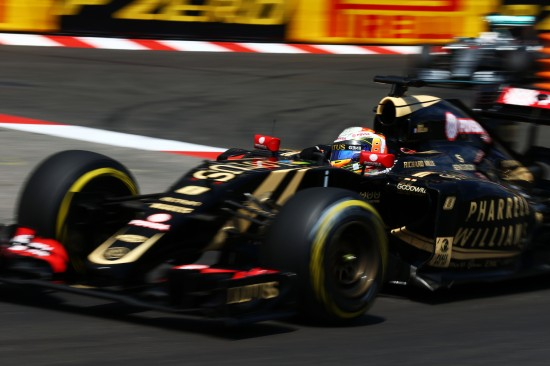 Romain Grosjean (FRA) Lotus F1 E23. Monaco Grand Prix, Sunday 24th May 2015. Monte Carlo, Monaco.