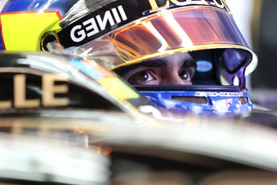 Pastor Maldonado (VEN) Lotus F1 E23. Monaco Grand Prix, Sunday 24th May 2015. Monte Carlo, Monaco.