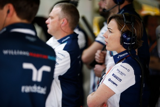 Claire Williams, Deputy Team Principal.