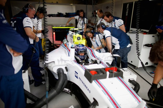 Monte Carlo, Monaco. Thursday 21 May 2015. Valtteri Bottas, Williams F1. Photo: Glenn Dunbar/Williams ref: Digital Image _W2Q5416