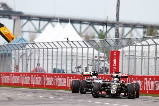 Romain Grosjean (FRA) Lotus F1 E23. Canadian Grand Prix, Sunday 7th June 2015. Montreal, Canada.