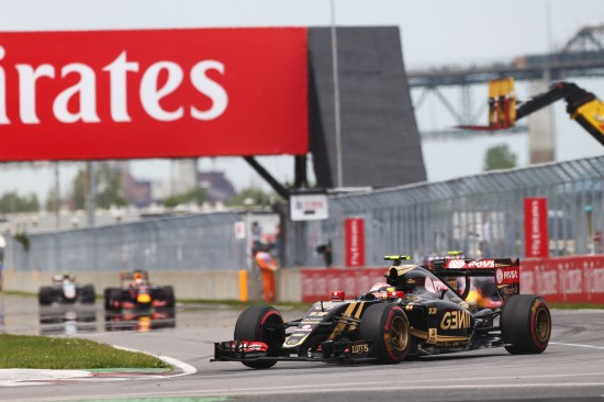Pastor Maldonado (VEN) Lotus F1 E23. Canadian Grand Prix, Sunday 7th June 2015. Montreal, Canada.