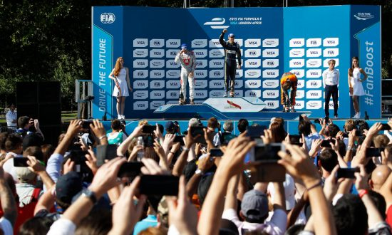 Buemi takes victory in Visa London ePrix
