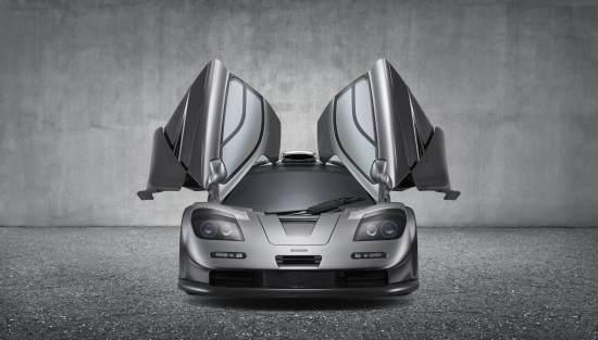 McLaren_F1_GT_Silver_Head On