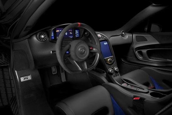 P1 Prost Interior Dash