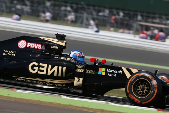 Jolyon Palmer (GBR) Lotus F1 E23 Test and Reserve Driver. British Grand Prix, Friday 3rd July 2015. Silverstone, England.