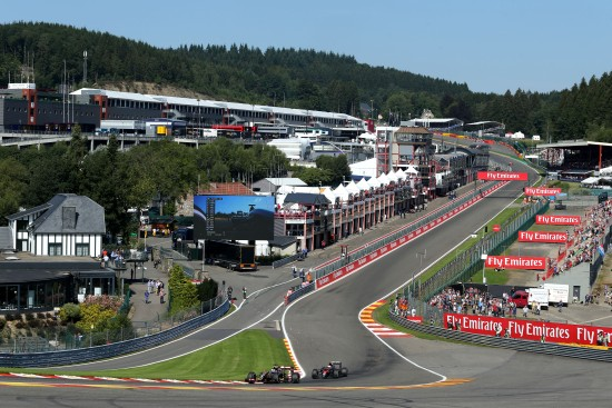 Motor Racing - Formula One World Championship - Belgian Grand Prix - Practice Day - Spa Francorchamps, Belgium