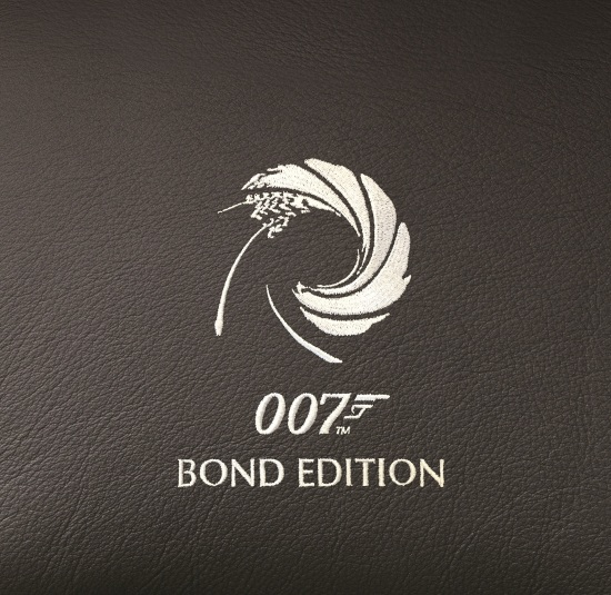 DB9 GT Bond Edition Stitch Detail