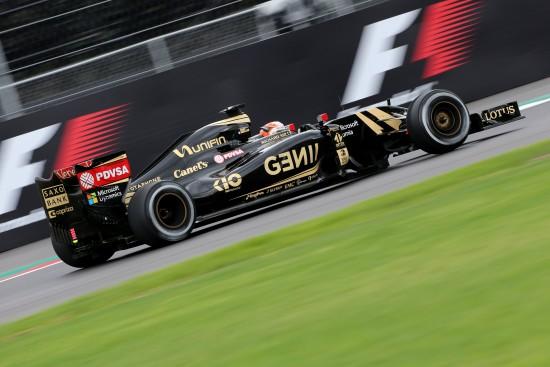Romain Grosjean (FRA) Lotus F1 E23. Mexican Grand Prix, Friday 30th October 2015. Mexico City, Mexico.