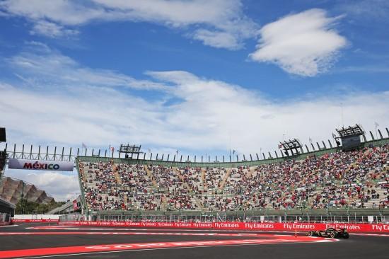 Pastor Maldonado (VEN) Lotus F1 E23. Mexican Grand Prix, Friday 30th October 2015. Mexico City, Mexico.