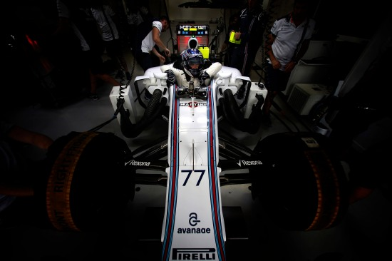 Interlagos, Sao Paulo, Brazil. Friday 13 November 2015. Valtteri Bottas, Williams F1. Photo: Glenn Dunbar/Williams ref: Digital Image WW2Q3125