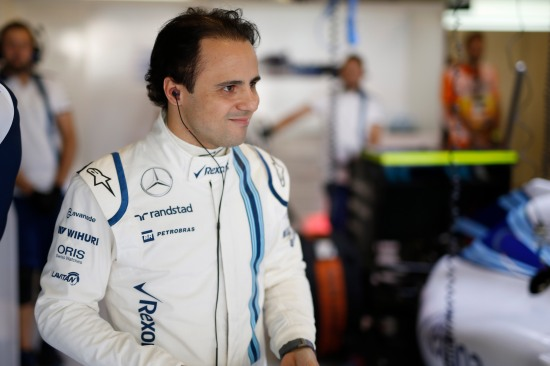 Yas Marina Circuit, Abu Dhabi, United Arab Emirates. Saturday 28 November 2015. Felipe Massa, Williams F1. Photo: Glenn Dunbar/Williams F1 ref: Digital Image WW2Q8361
