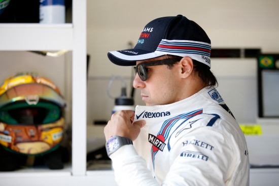 Monte Carlo, Monaco. Saturday 28 May 2016. Felipe Massa, Williams Martini Racing. Photo: Glenn Dunbar/Williams ref: Digital Image _W2Q3951