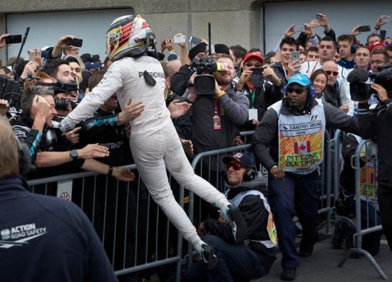 2016 Canadian Grand Prix, Sunday