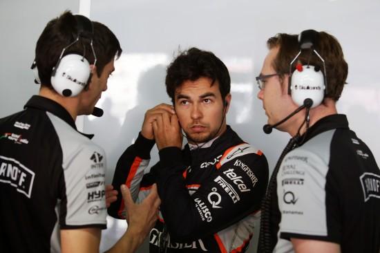 Sergio Perez (MEX) Sahara Force India F1. German Grand Prix, Saturday 30th July 2016. Hockenheim, Germany.