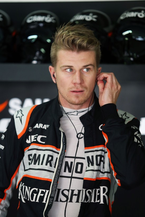 Nico Hulkenberg (GER) Sahara Force India F1. German Grand Prix, Sunday 31st July 2016. Hockenheim, Germany.
