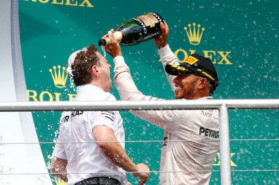 2016 German Grand Prix, Sunday